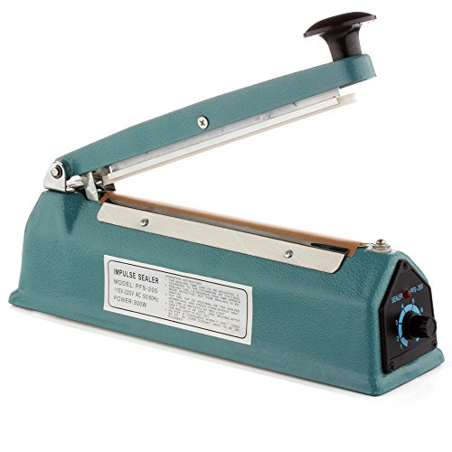 8 inch impulse sealer with cutter - 1