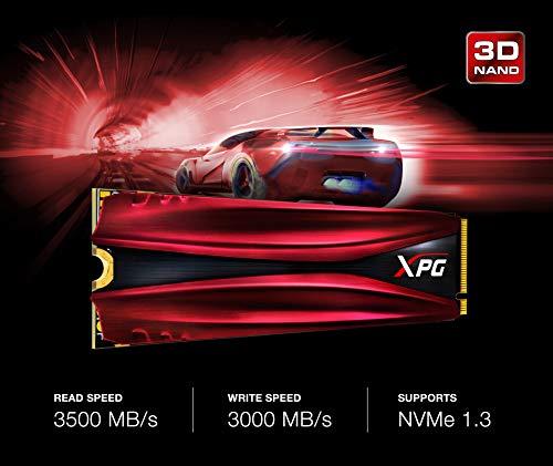 XPG GAMMIX 1TB S11 Pro 3D NAND PCIe NVMe Gen3x4 M.2 2280 SSD (AGAMMIXS11P-1TT-C) by XPG (Image #3)