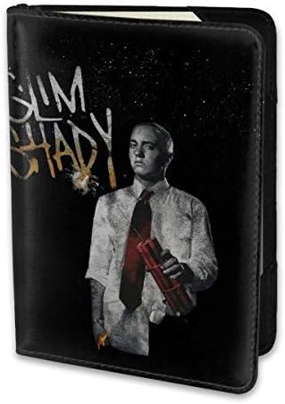 Eminem エミネム1 パスポートケース パスポートカバー メンズ レディース パスポートバッグ ポーチ 携帯便利 シンプル 収納カバー PUレザー収納抜群 携帯便利 海外旅行 出張 小型 軽便