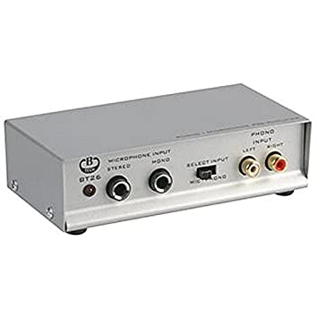 B-tech Phono/micrófono preamplificador Audio Amplificadores