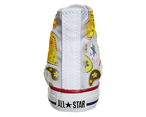 Converse Customized Adulte - chaussures coutume (produit artisanal) Hippie Paisley
