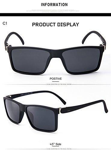 para 400 C1 Gafas Aviator De C3 Hombre Protección UV para Polarizadas Sol Mujer fRRY7pqn