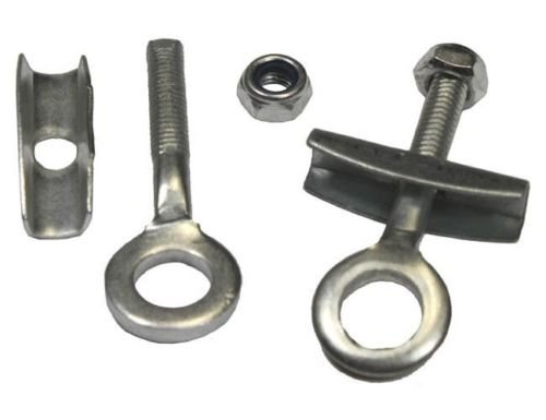 Chain Adjuster (Tensioner, 6mm x 54mm) set for mini Pocket Bike,Chopper, electric scooter etc