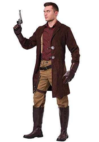 Firefly Malcolm Reynolds Costume Medium Brown -