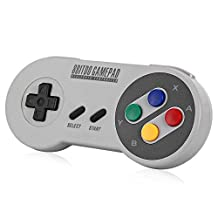 SF30 Gamepad, YIKESHU excellent 8Bitdo Controller work with Nintendo Switch, Wireless Bluetooth Controller Classic Nintendo Gamepad Joystick for Mac, Android and Windows devices(SF30)