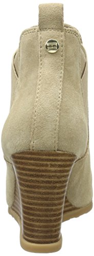 Tommy Hilfiger I1285sla 4b, Sandalias con Plataforma para Mujer Beige (Sand 102)