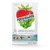 PAPELES DE ALIMENTOS Hojas de ahorro de alimentos para productos   Mantenga Frutas y Verduras Frescas   Perfecto para almacenar alimentos, preparar comidas saludables   Libre de BPA   Hecho en EE.UU
