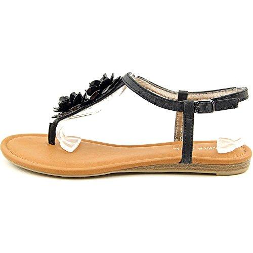 Rampage - Sandalias de vestir para mujer negro