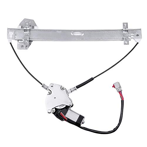 ROADFAR Power Window Regulator and Motor Replacement Parts fit for 2003-2011 Honda Element Front Left Drivers Side 72250SCVA02 748-131