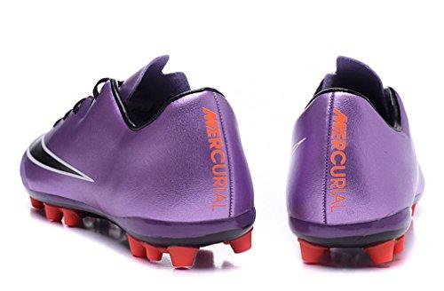 Herren Mercurial X AG violett Low Fußball Schuhe Fußball Stiefel