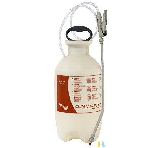 Chapin 25020 2 Gallon Cleaners Transparent