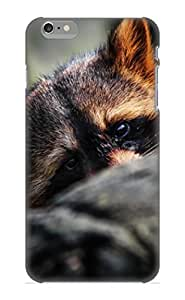 Fashion Protective Animal Raccoon Case Cover Design For Iphone 6 Plus