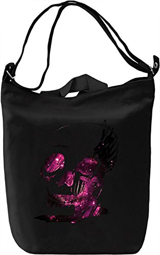 Galaxy Skull Sketch Borsa Giornaliera Canvas Canvas Day Bag| 100% Premium Cotton Canvas| DTG Printing|