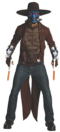 Star Wars Deluxe Cad Bane Costume, Black,