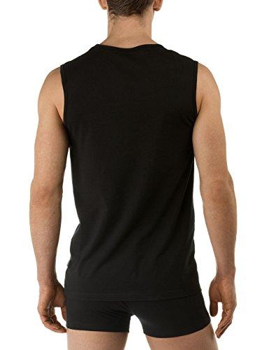 activity Canotta City Nero shirt Cotton Uomo Da 992 schwarz Calida wHAE6dqxq