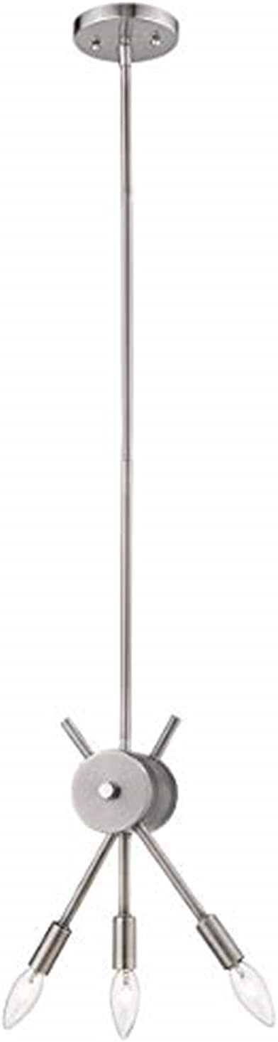 EGLO 203479A Willsboro Pendant Polished Nickel Ranking Large discharge sale TOP10 Fixture 58-Inch