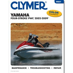 CLYMER YAMAHA 4 STROKE PERSONAL WATERCRAFT 2002-2009 ''Prod. Type: Boat Outfitting'' by OEM