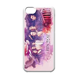 HXYHTY Print Teen Wolf Pattern PC Hard Case for iPhone 5C