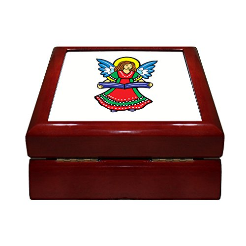 angel-with-a-dress-of-colors-vintage-look-jewelry-box-with-ceramic-tile-lid