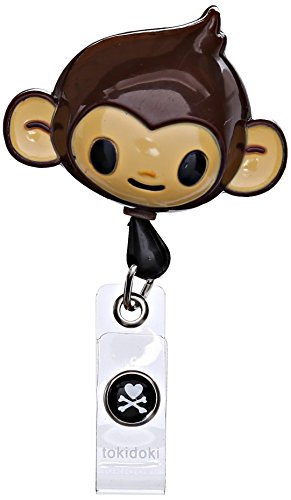 Koi Women's Tokidoki Retractable Id Badge Reel, Monkey, One - Holder Monkey Key