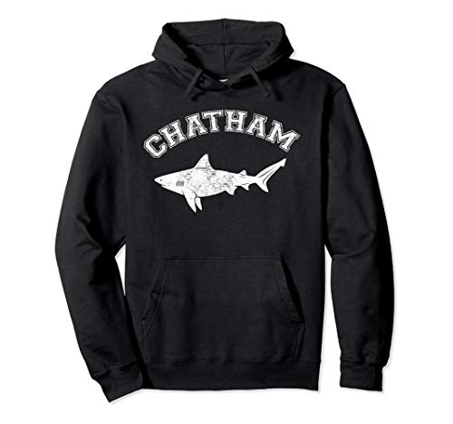 Chatham MA Great White Shark MA Massachusetts The Cape Pullover Hoodie