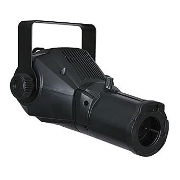 Showtec image Spot 25 vatios LED-proyector de gobos negro: Amazon ...