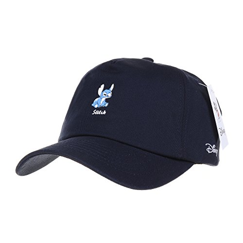 l Cap Lilo and Stitch The Cutest Alien Hat CR1308 (Navy) ()