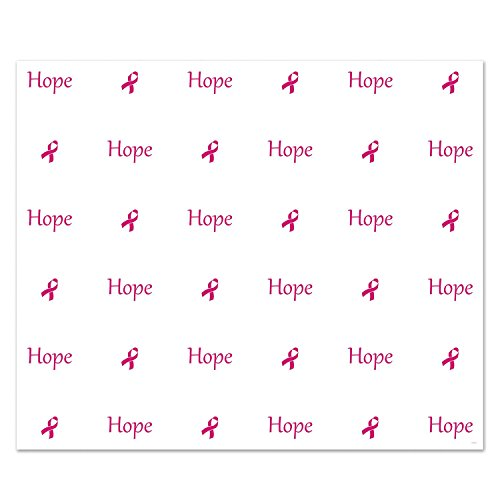 Party Central Pack of 6 Pink Ribbon Breast Cancer Awareness Insta-Mural Photo Backdrop Decorations