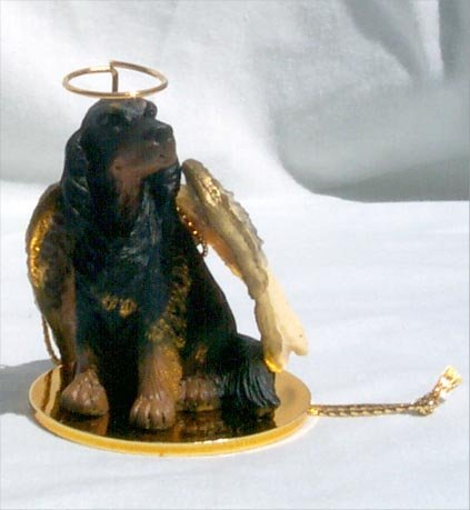 Conversation Concepts Coonhound Black & Tan Pet Angel -