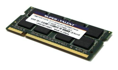Super Talent DDR2-667 SODIMM 1GB/64x8 Value Notebook Memory T667SB1G/V by Super Talent (Image #3)