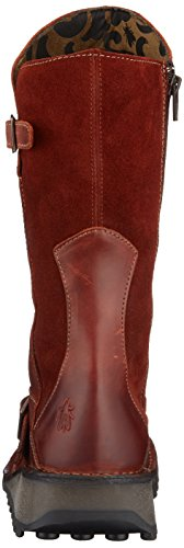 London Chukka Fly Boots Brick Rouge Femme Mes 088 dqq7xOwU