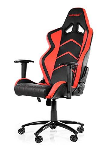 AKRACING Player Gaming Stuhl für Computer schwarz/rot