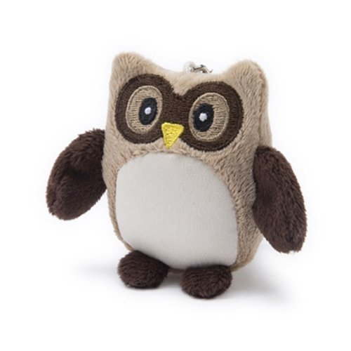 Intelex Hooty Owl Cell Phone Screen Cleaner (Brown)