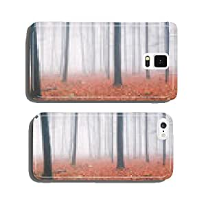 Autumn Forest Panorama cell phone cover case Samsung S6
