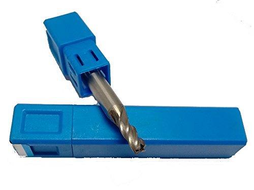 Jerray diametro 3mm 4flauto fresa HSS al quadrato, ad alta velocità in acciaio piatto fresa D3* 10* D6* 60L (5pezzi) ad alta velocità in acciaio piatto fresa D3* 10* D6* 60L (5pezzi) ShangYou Tools Ltd.