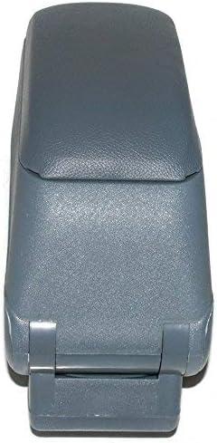 Boloromo 48013 Mittelarmlehne Armlehne mit Schiebeplatte Universal Konsole Mittelkonsole Grau