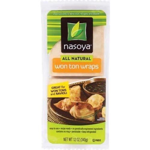 Nasoya All Natural Won Ton Wraps 12 Ounce  6 per case