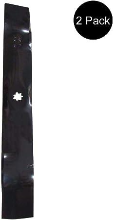 Amazon.com: (2) Cuchillas de cortacésped para John Deere ...