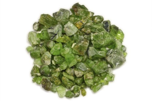 (Hypnotic Gems Materials: 1 lb Rough Bulk Peridot Stones from Pakistan - Raw Natural Crystals for Cabbing, Tumbling, Lapidary, Polishing, Wire Wrapping, Wicca & Reiki Crystal Healing )