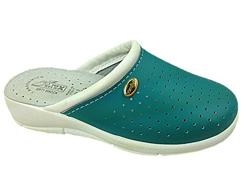 Foster Footwear - Sandalias con cuña mujer Verde