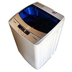 Boasting a unique, space-saving design, the Panda Compact 1. 6cu. ft. Portable Load Washer makes your laundry easy and simple. It is compact which is perfect for small loads for daily usage, you can use it in apartment, dorms, RVs, and it jus...