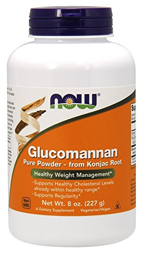 NOW Glucomannan Pure Powder, 8 Ounce