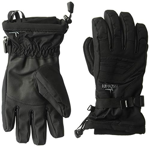 (Kombi Women's Storm Cuff III Gloves, Black, Medium )