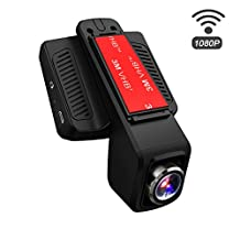 "TOGUARD Car Dash Cam WiFi 170 Degree Wide Angle Lens Stealth Full HD 1080P Dash Camera 2.45"" IPS LCD Car DVR Road Video Recorder Loop Recording, HDR, Parking Monitor, Motion Detection"