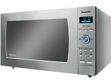 Panasonic NN-SE782S Integrado 45L 1250W Acero inoxidable - Microondas (Integrado, 45 L, 1250 W, Botones, Tocar, Acero inoxidable, 38,1 cm): Amazon.es: Hogar