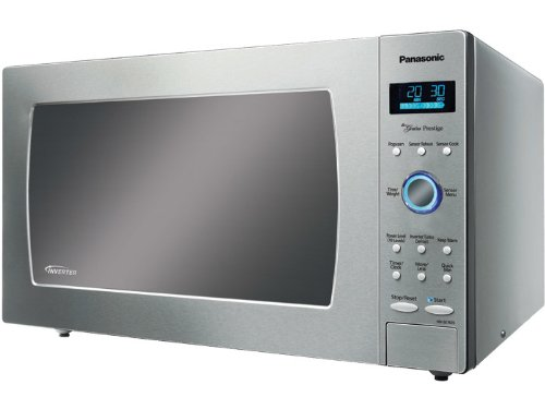 Panasonic 1.6 Cu. Ft. Full-Size Microwave Stainless-Steel NN-SE782S