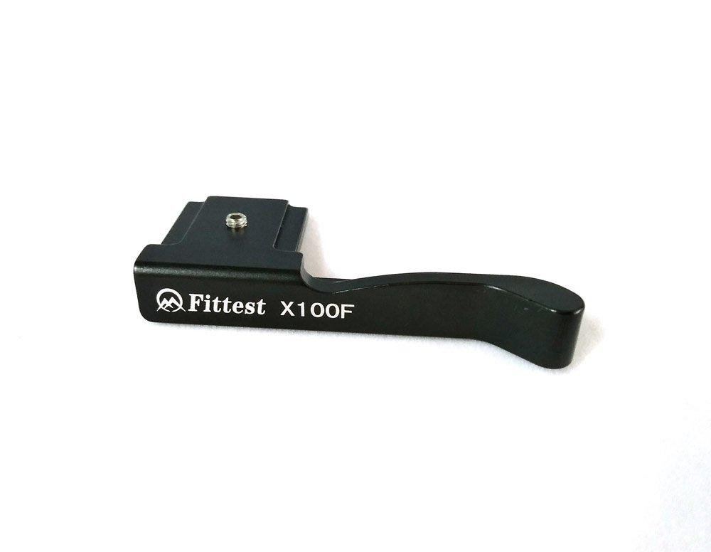 FITTEST MZX100F Custom Digital Camera Mount Thumbs Up Grip for Fujifilm Fuji X100F Camera