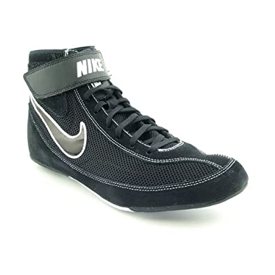the best attitude 03cb9 0b0f8 Nike Mens Speedsweep VII Wrestling Shoe Black White Black Size 6.5