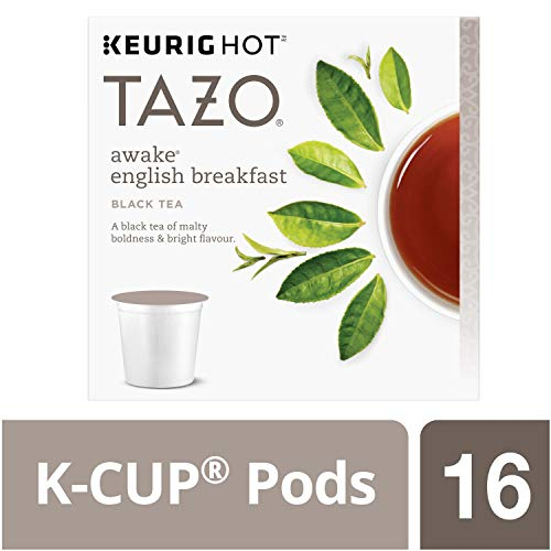Starbucks Tazo K-Cup Awake Tea, 16ct