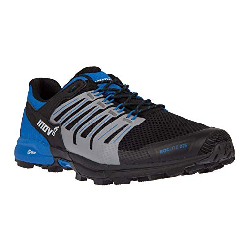 Inov-8 Mens Roclite G 275 - Lightweight Trail Running OCR Shoes - Graphene Grip - for Obstacle, Spartan Races and Mud Running